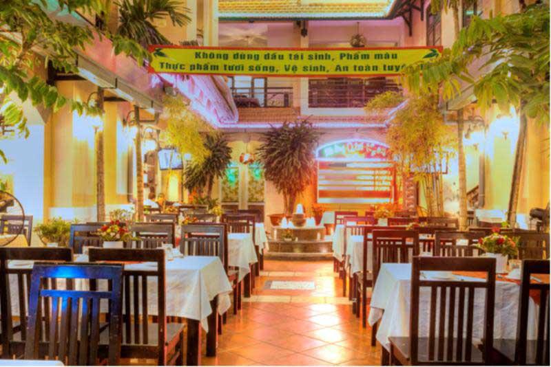 Nhà hàng Quá Ngon an toàn vệ sinh thực phẩm