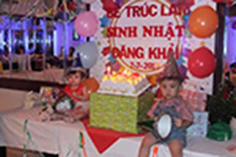 Tiệc sinh nhật bé Trúc Lam & Đăng Khải - 07/07/2013