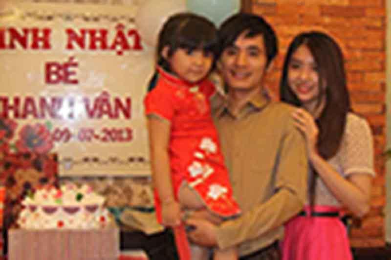 Tiệc sinh nhật bé Thanh Vân - 09/07/2013