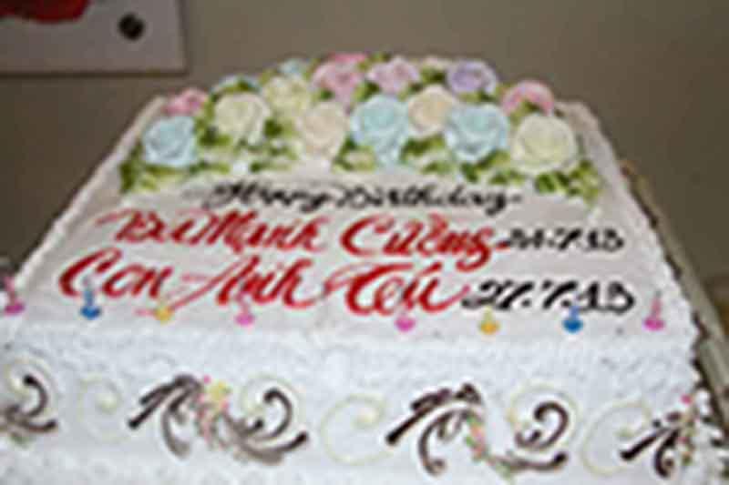 Tiệc sinh nhật anh Mạnh Cường - 27/07/2013