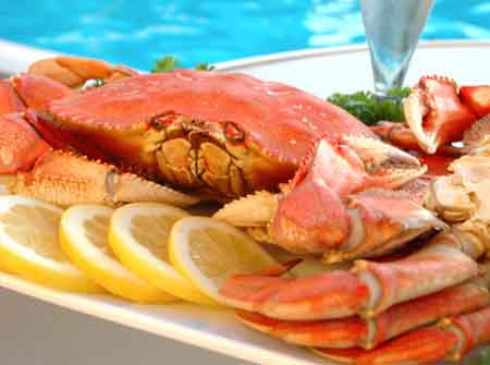 How to get rid of the stink of crab: