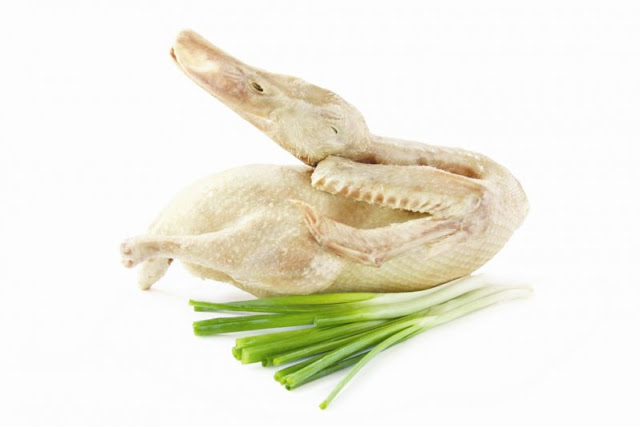 Tip to get rid of odor duck meat