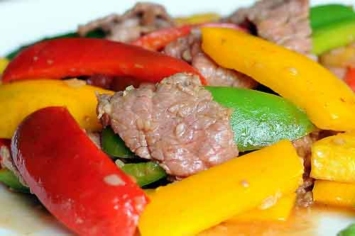 Stir-fry beef deliciously
