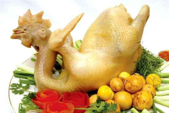 Ý nghĩa món thịt gà ngày Tết