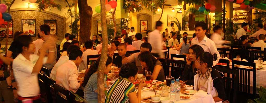 Nhà hàng đặt tiệc ngon giá rẻ tại Sài Gòn, nhà hàng ăn ngon tại TPHCM