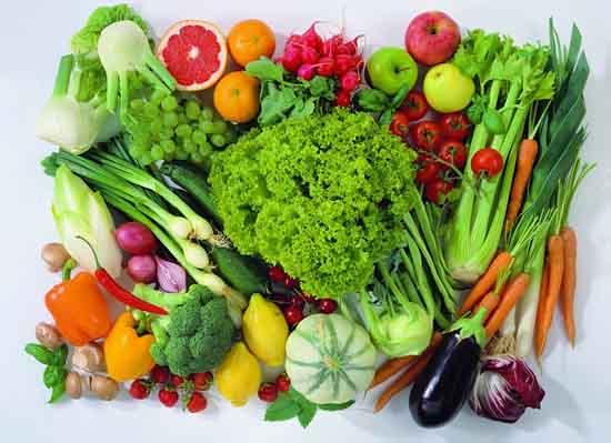 Rau củ và trái cây