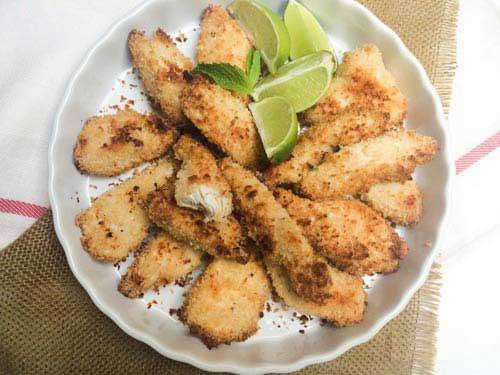 món ngon dễ làm - thịt gà tẩm bột nướng