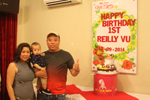 Tiệc sinh nhật bé Reilley