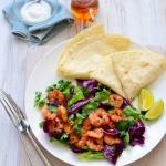huong dan lam mon salad tom