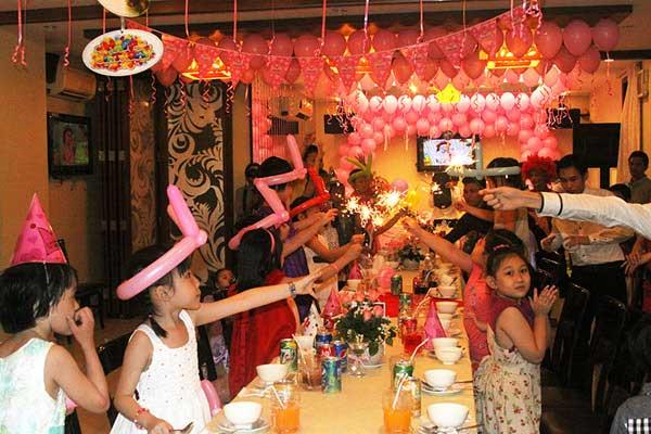 Nơi đặt tiệc sinh nhật cho bé ở TP.HCM
