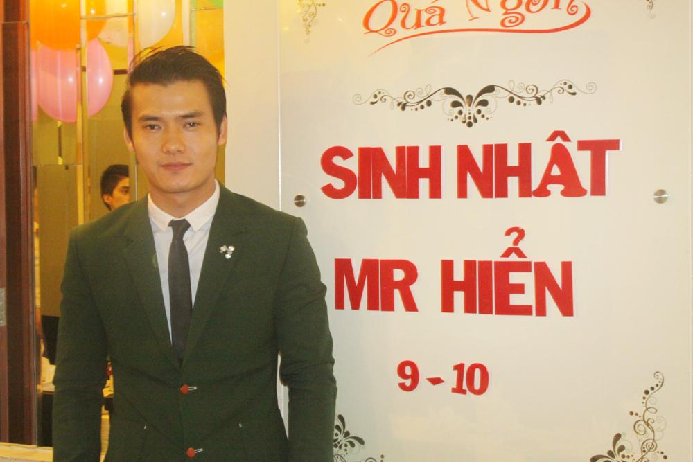Tiệc sinh nhật Mr. Hiển ngày 09-10-2014