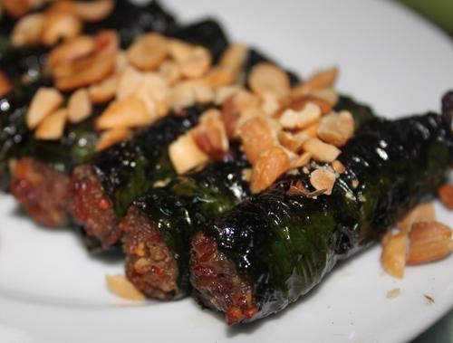 Thịt Bò Cuốn Lá Lốt