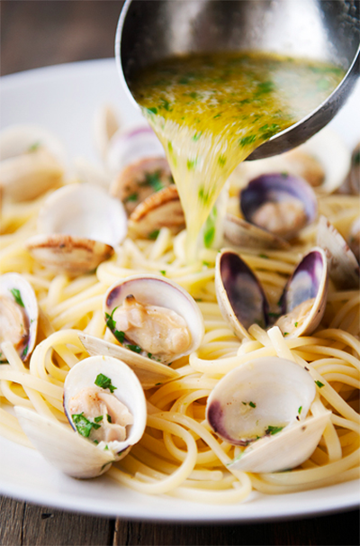 Độc đáo món mì Spaghetti nghêu