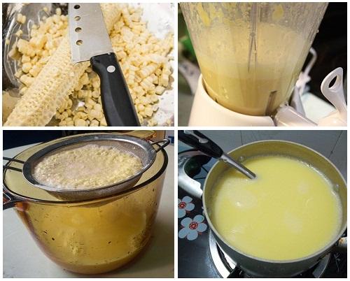 Hướng dẫn chi tiết cách làm sữa bắp