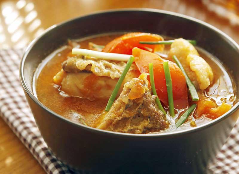 Hướng dẫn nấu món canh cá nấu cà chua