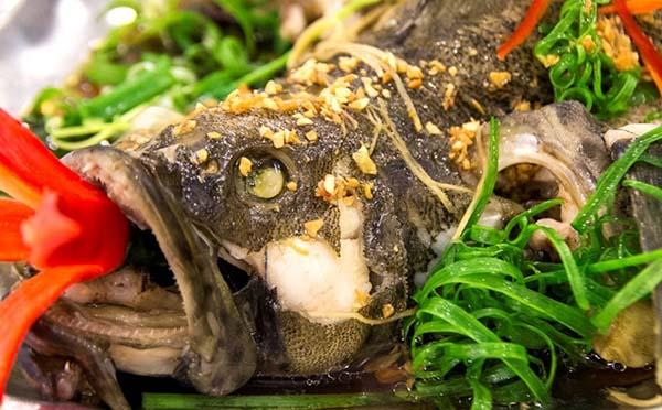 Kết quả hình ảnh cho Cá mú hấp Hồng Kông