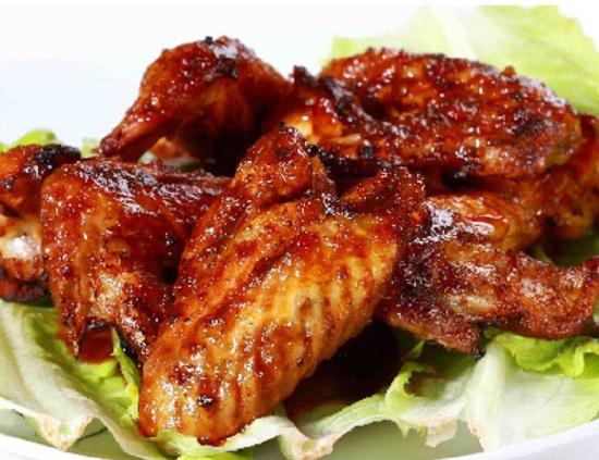 cánh gà nướng muối ớt
