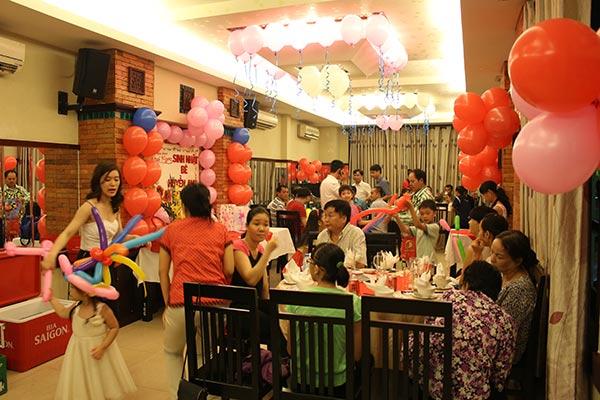 Đãi tiệc ở đâu ngon tại Sài Gòn