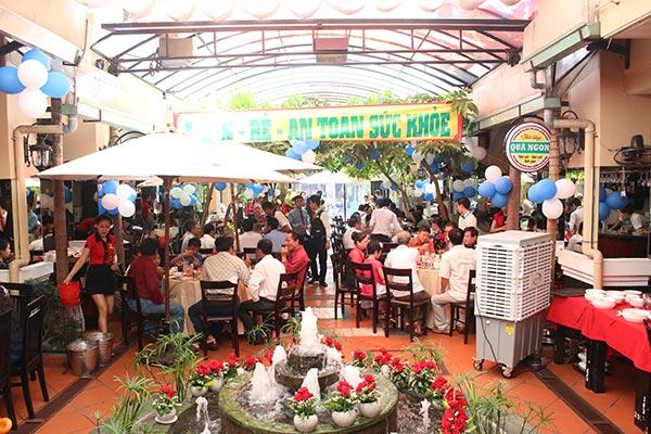 Nhà hàng Quá Ngon phục vụ cơm trưa văn phòng