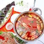Cách nấu lẩu cá lăng măng chua ngon ấm lòng ngày mưa