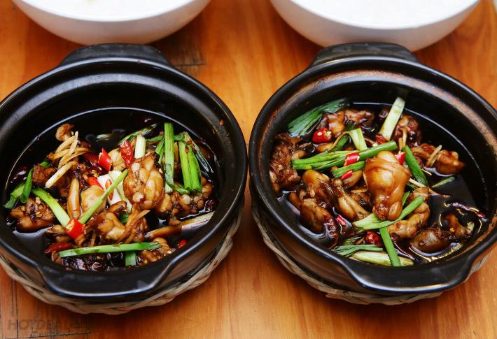 Hướng dẫn cách làm món cháo ếch Singapore ngon