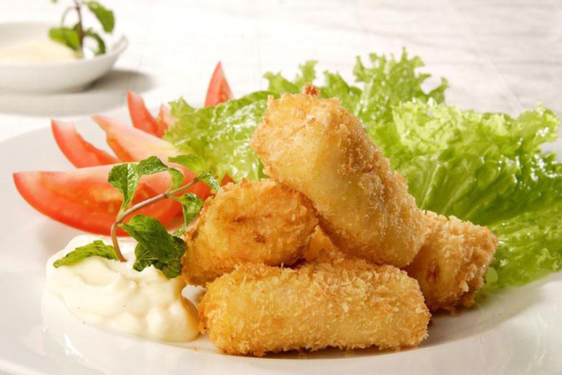 Hướng dẫn làm chả giò hải sản chiên xù sốt mayonnaise ngon