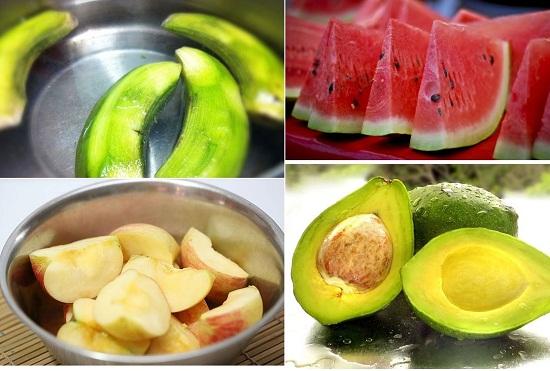 mẹo giữ hoa quả tươi lâu hơn