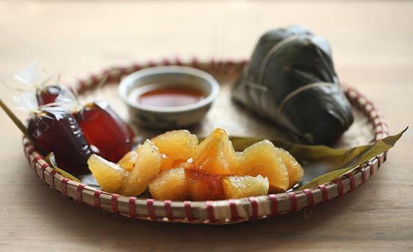 Bánh tro là món ăn truyền thống trong dịp Tết Đoan Ngọ