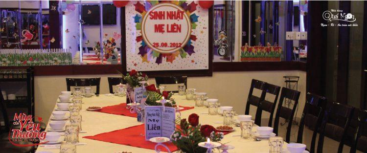 Nhà hàng Quá Ngon- Nơi lưu giữ khoảnh khắc