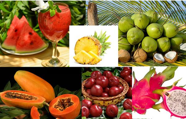 loại trái cây có tính hàn sẽ giúp hóa giải nhiệt nóng trong người ngay.