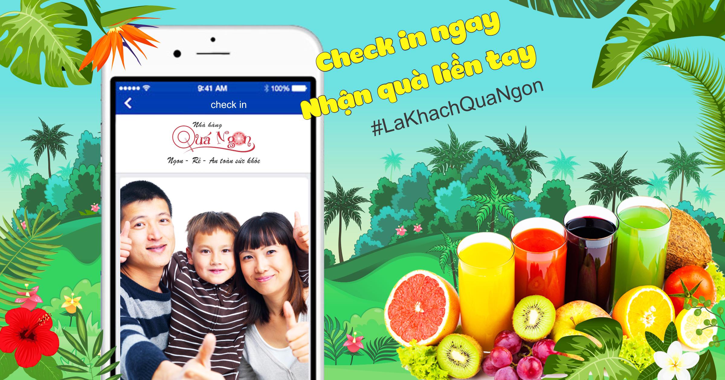 Chương trình khuyến mãi #Lakhachquangon