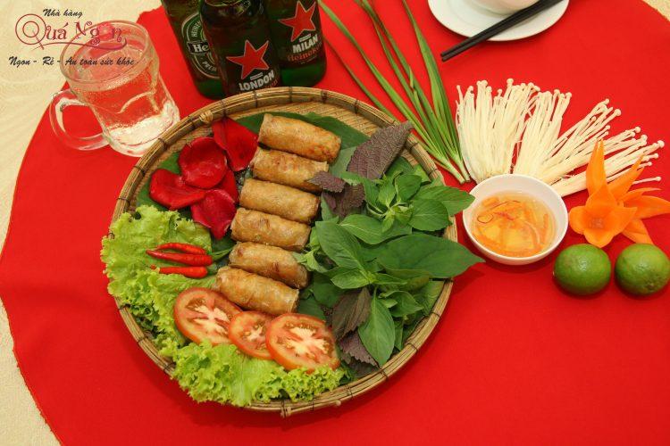 Nhà hàng Quá Ngon – 5 Bí quyết chiên chả giò giòn lâu hơn