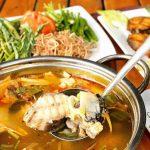 Hướng dẫn cách nấu lẩu cá tầm ngon – Nhà hàng Quá Ngon