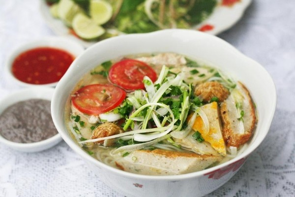 Bún chả cá Phú Yên