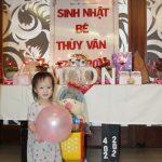 Ảnh Tiệc sinh nhật của Bé Thùy Vân. Nhà Hàng Quá Ngon