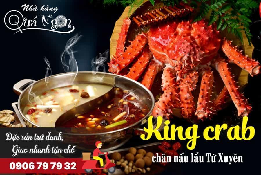 cua king crab lau tu xuyen